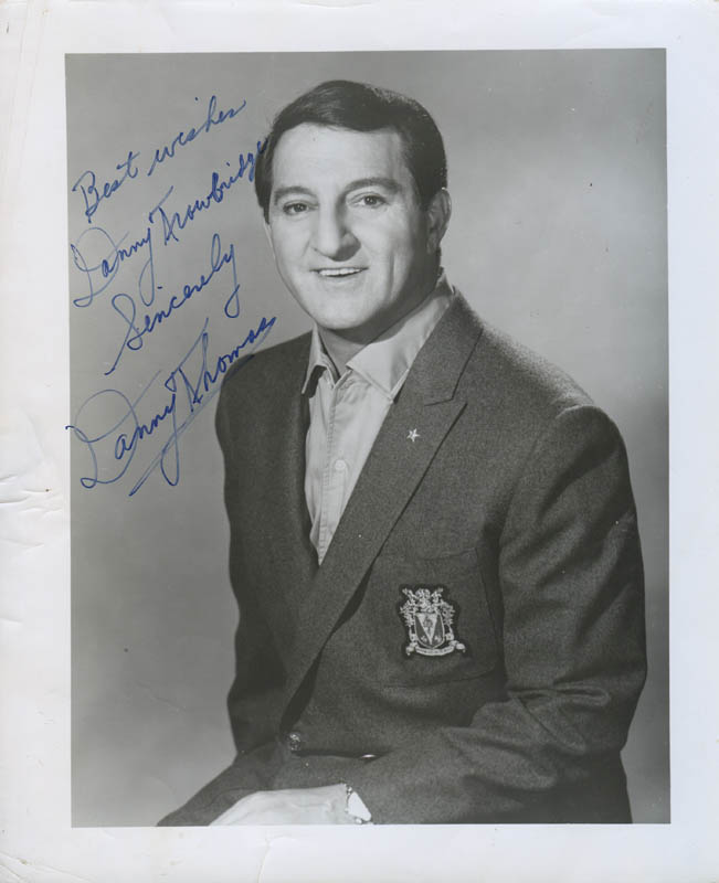 Image 1 for Danny Thomas - Autographed Inscribed Photograph - HFSID 277765