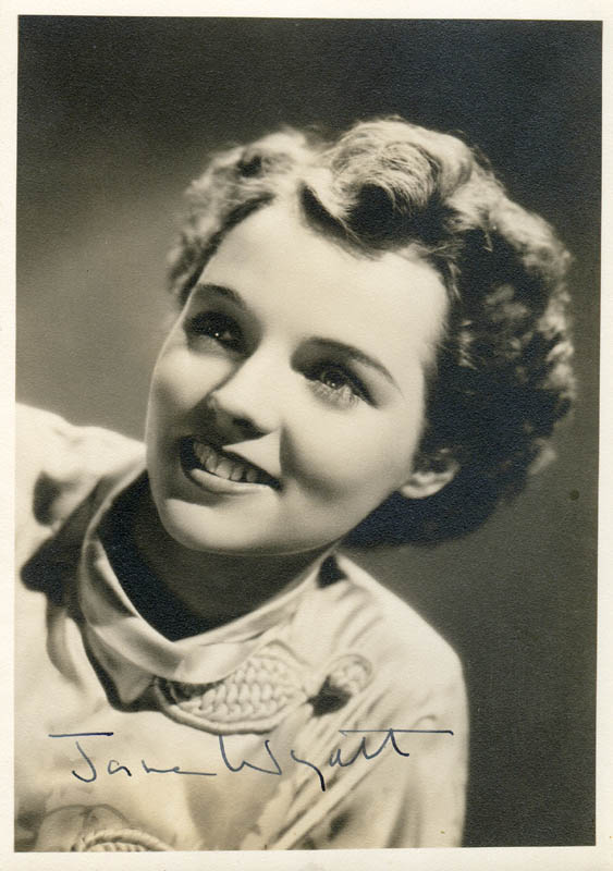 Image 1 for Jane Wyatt - Autographed Signed Photograph - HFSID 277790
