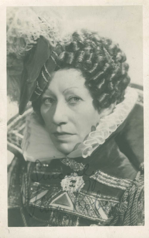 Image 1 for Dame Flora Robson - Autographed Signed Photograph - HFSID 277809