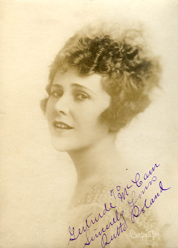 Image 1 for Ruth Roland - Autographed Inscribed Photograph - HFSID 277867