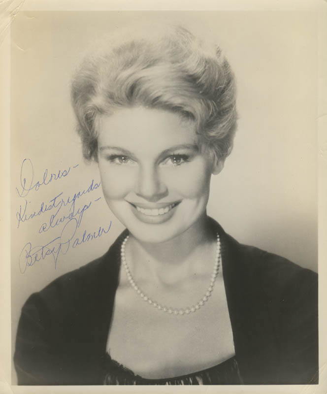 Image 1 for Betsy Palmer - Autographed Inscribed Photograph - HFSID 277926