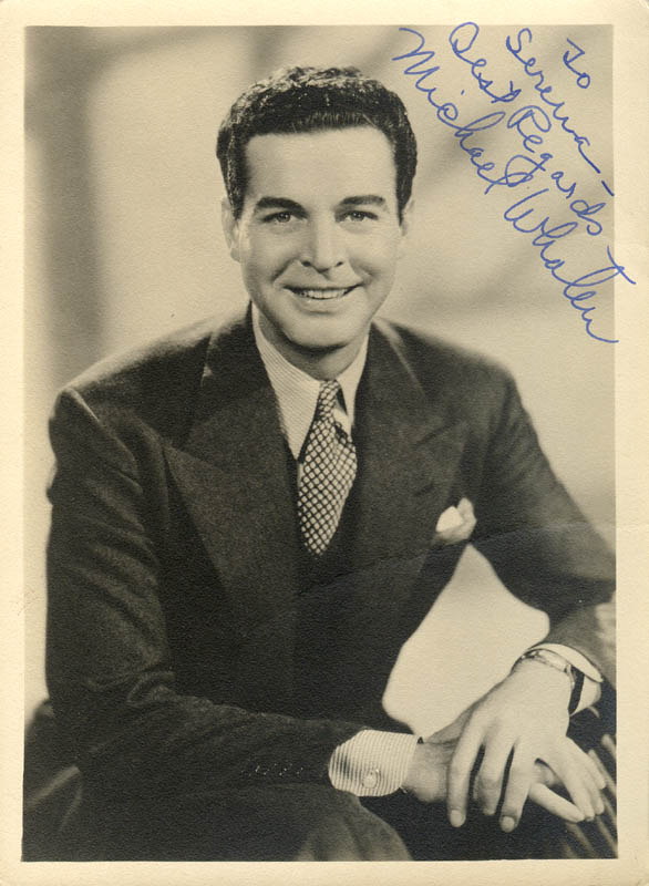 Image 1 for Michael Whalen - Autographed Inscribed Photograph - HFSID 278004