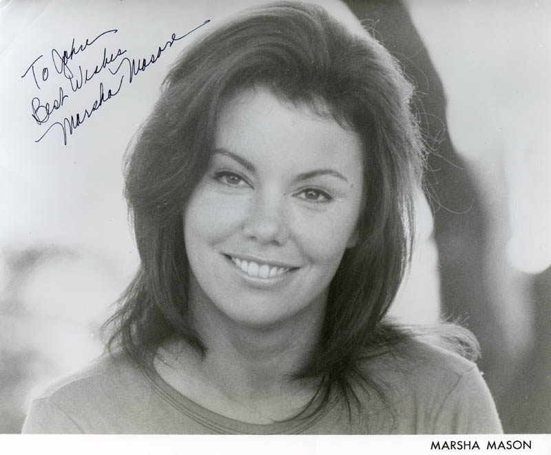 Image 1 for Marsha Mason - Autographed Inscribed Photograph - HFSID 278033