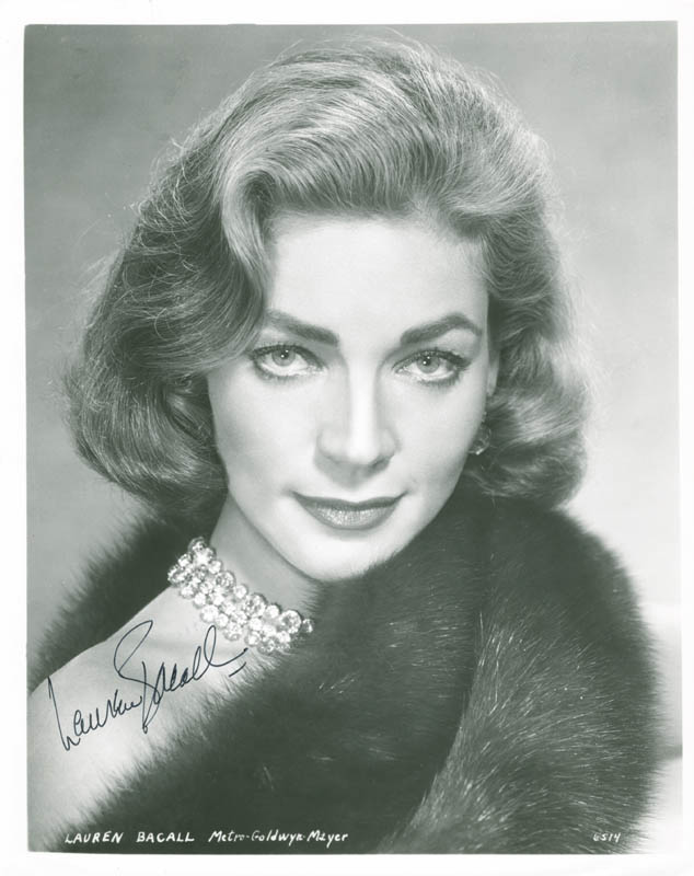 Image 1 for Lauren Bacall - Autographed Signed Photograph - HFSID 278098