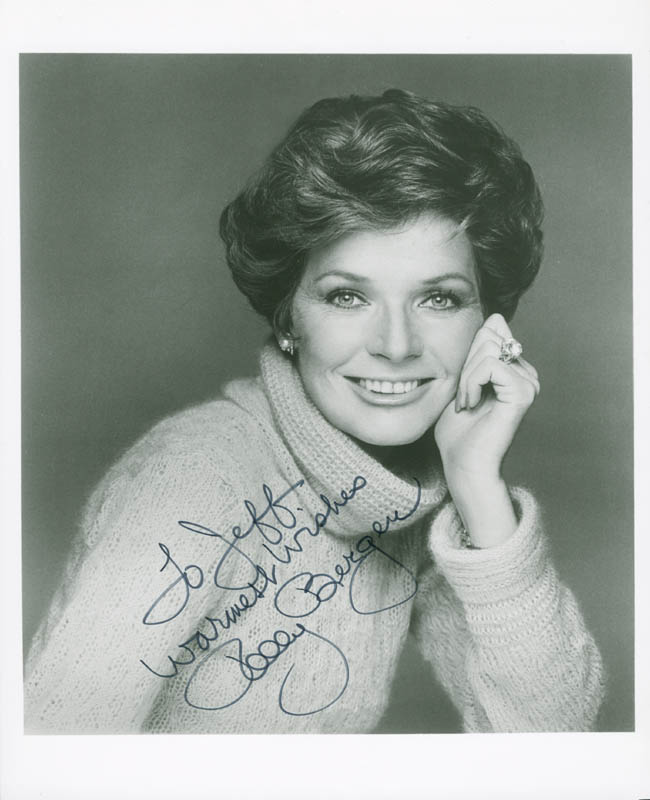 Image 1 for Polly Bergen - Autographed Inscribed Photograph - HFSID 278196