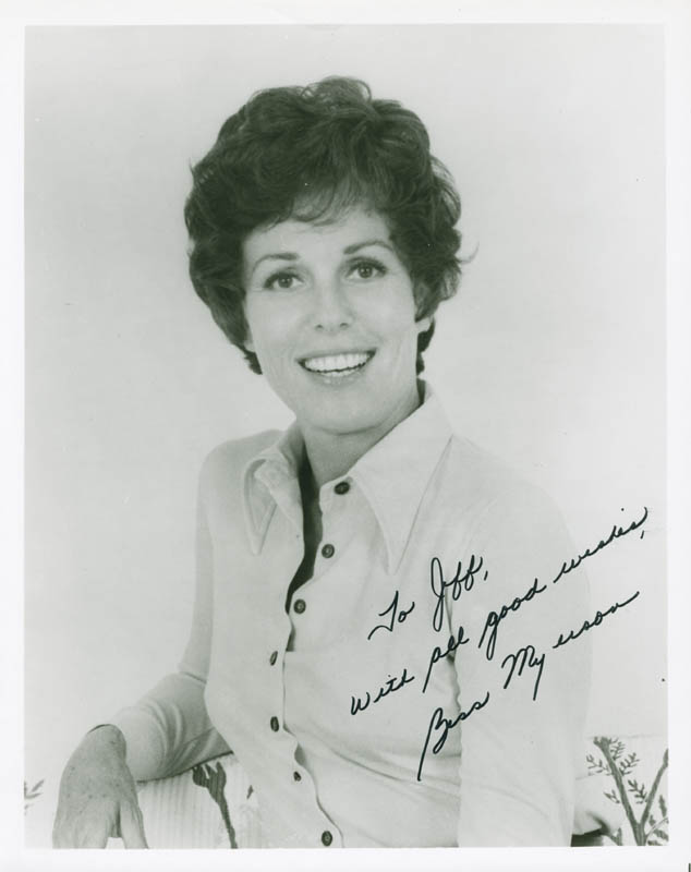 Image 1 for Bess Myerson - Autographed Inscribed Photograph - HFSID 278236