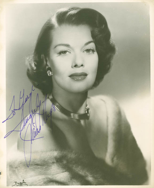 Image 1 for Janis Paige - Autographed Inscribed Photograph - HFSID 278371