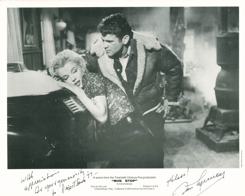 Image 1 for Don Murray - Autographed Signed Photograph - HFSID 278384