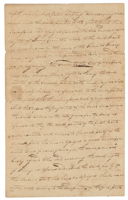 Image 3 for Robert Fulton - Manuscript Document Signed 11/03/1809 - HFSID 278467