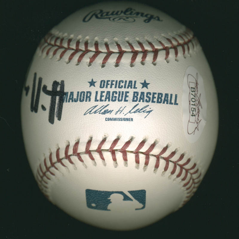 Image 4 for President William J. 'Bill' Clinton - Autographed Signed Baseball co-signed by: First Lady Hillary Rodham Clinton - HFSID 278480