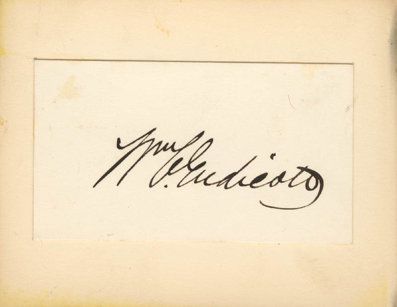 Image 1 for William C. Endicott - Autograph - HFSID 27849