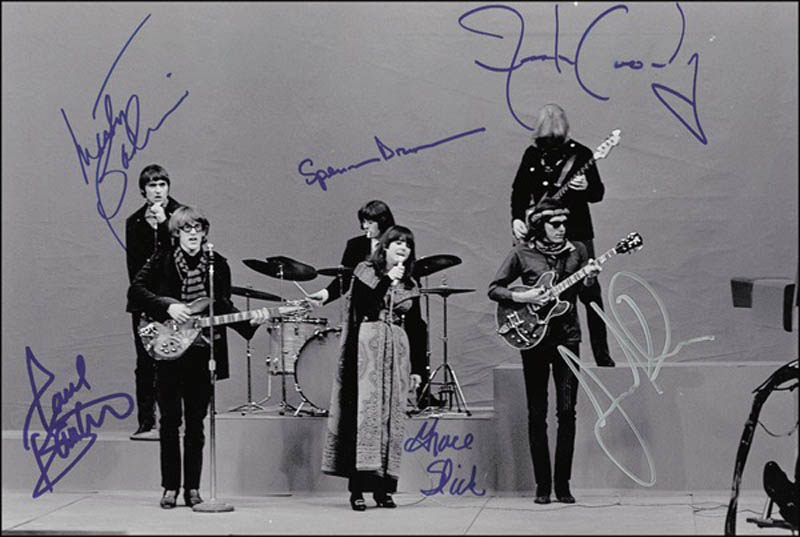 Image 1 for Jefferson Airplane - Autographed Signed Photograph with co-signers - HFSID 278514