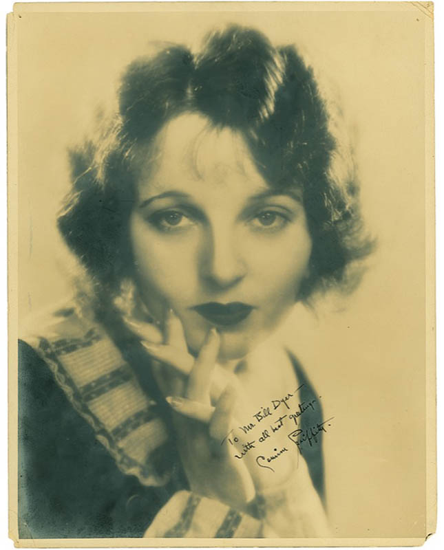 Image 1 for Corinne Griffith - Autographed Inscribed Photograph - HFSID 278578