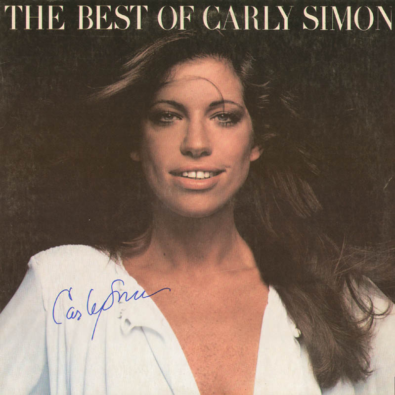 Image 1 for Carly Simon - Record Album Cover Signed - HFSID 278601