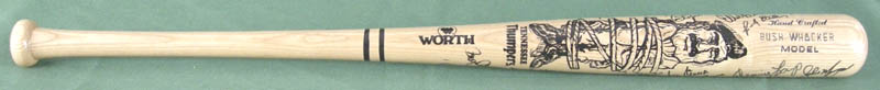 Image 1 for Roger Clemens - Baseball Bat Signed with co-signers - HFSID 278611