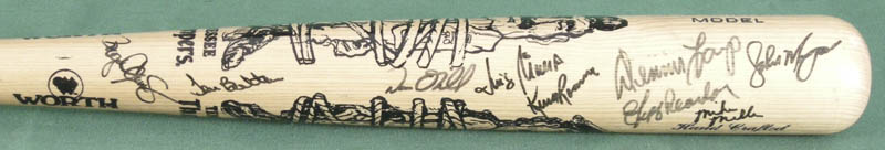 Image 4 for Roger Clemens - Baseball Bat Signed with co-signers - HFSID 278611