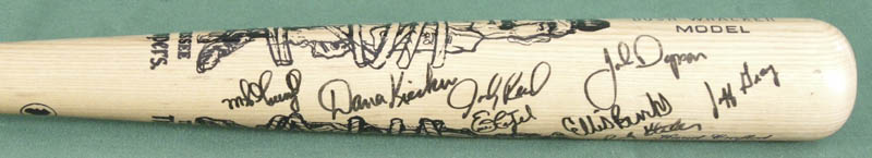 Image 6 for Roger Clemens - Baseball Bat Signed with co-signers - HFSID 278611