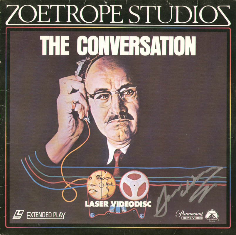 Image 1 for Gene Hackman - Laser Media Cover Signed - HFSID 278696