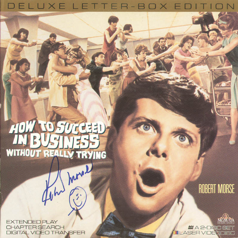 Image 1 for Robert Morse - Laser Media Cover Signed - HFSID 278732