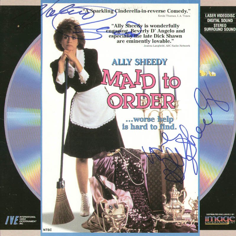 Image 1 for Ally Sheedy - Laser Media Cover Signed - HFSID 278767