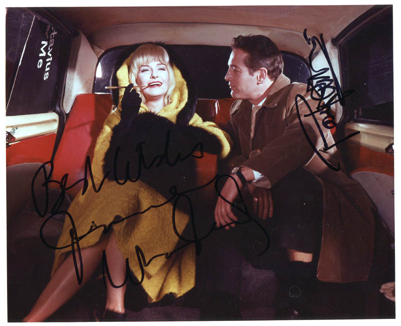 Image 1 for A New Kind Of Love Movie Cast - Autographed Signed Photograph co-signed by: Joanne Woodward, Paul Newman - HFSID 278777