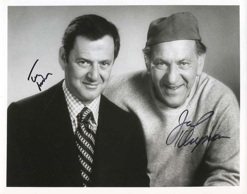 Image 1 for The Odd Couple TV Cast - Autographed Signed Photograph co-signed by: Jack Klugman, Tony Randall - HFSID 278803