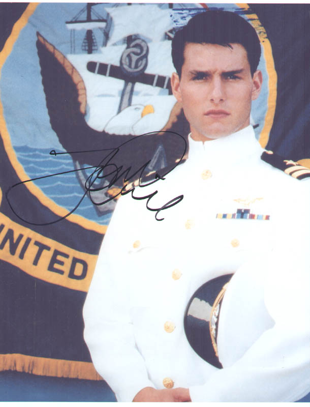 Image 1 for Tom Cruise - Autographed Signed Photograph - HFSID 278819