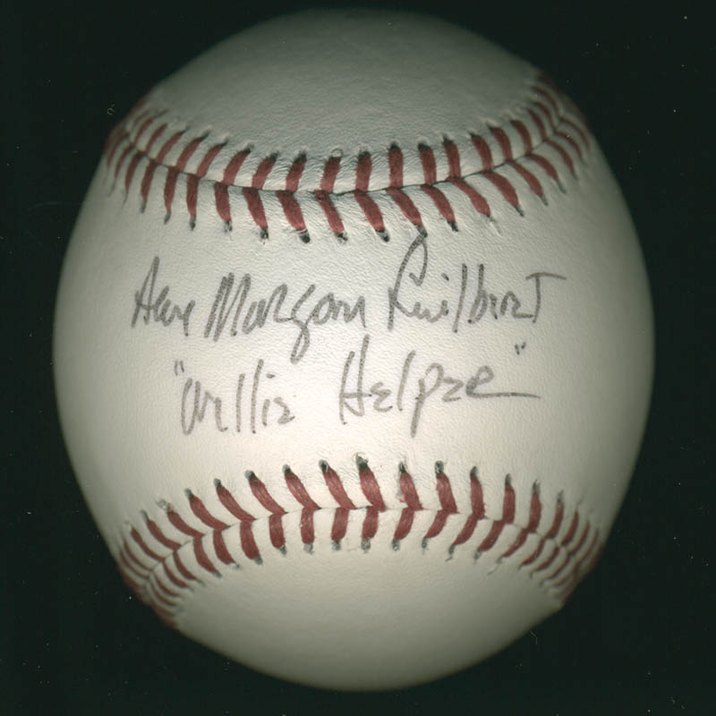 Image 1 for Ann Morgan Guilbert - Autographed Signed Baseball - HFSID 278930
