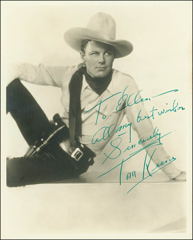 Image 1 for Tom Keene - Autographed Inscribed Photograph - HFSID 278947