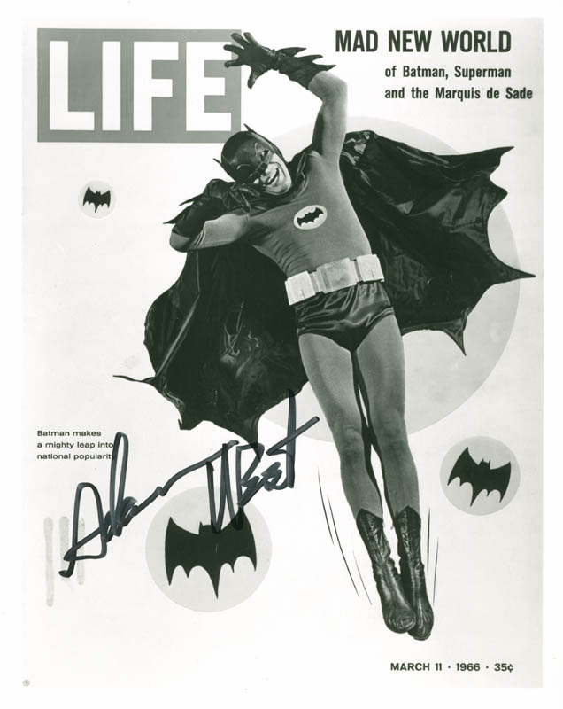 Image 1 for Adam West - Autographed Signed Photograph - HFSID 278959