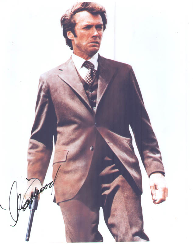 Image 1 for Clint Eastwood - Autographed Signed Photograph - HFSID 278979