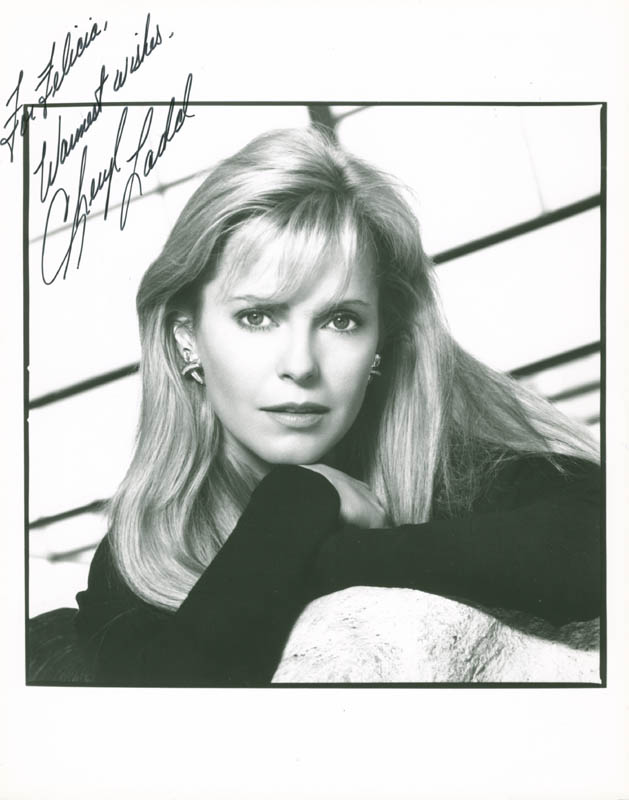 Image 1 for Cheryl Ladd - Autographed Inscribed Photograph - HFSID 279020