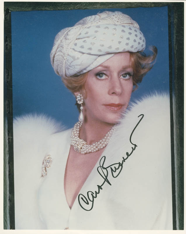 Image 1 for Carol Burnett - Autographed Signed Photograph - HFSID 279024
