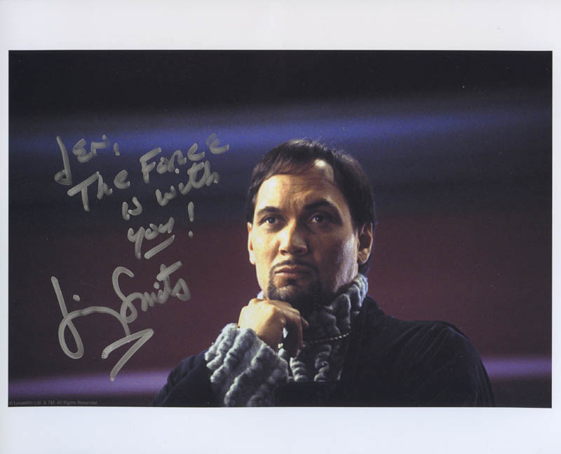 Image 1 for Jimmy Smits - Autographed Inscribed Photograph - HFSID 279053