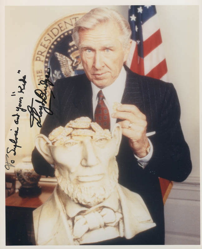Image 1 for Lloyd Bridges - Autographed Inscribed Photograph - HFSID 279074