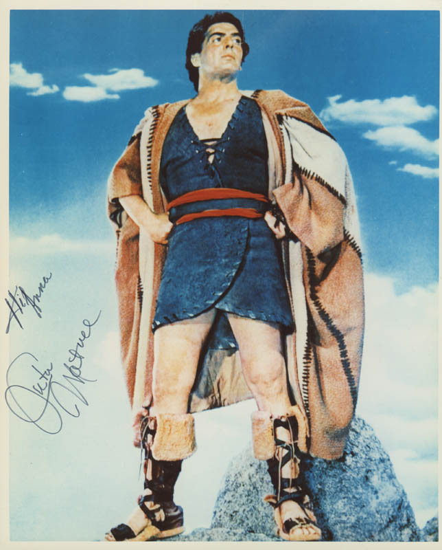 Image 1 for Victor Mature - Autographed Inscribed Photograph - HFSID 279092