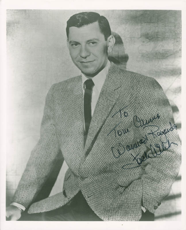 Image 1 for Jack Webb - Autographed Inscribed Photograph - HFSID 279111