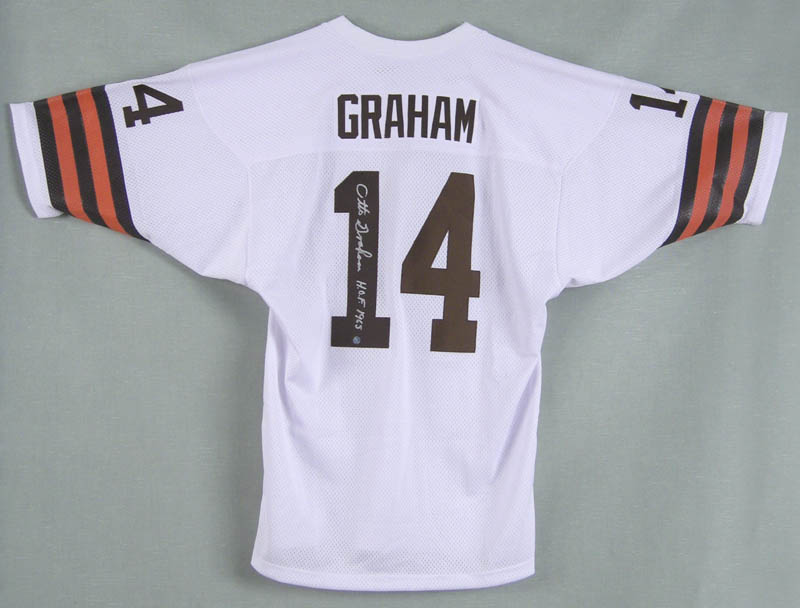 Image 1 for Otto Graham - Jersey Signed - HFSID 279156
