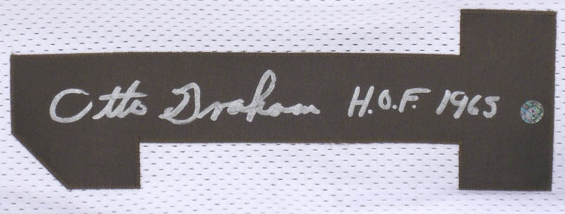 Image 3 for Otto Graham - Jersey Signed - HFSID 279156