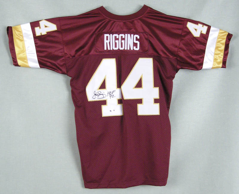 the best attitude 126ae 009ba John Riggins - Jersey Signed | HistoryForSale Item 279251