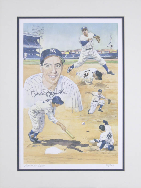 Image 1 for Phil Rizzuto - Printed Art Signed In Ink co-signed by: James M. Amore - HFSID 279262