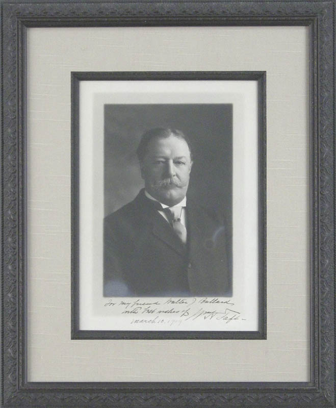 Image 1 for President William H. Taft - Autographed Inscribed Photograph 03/10/1909 - HFSID 279321