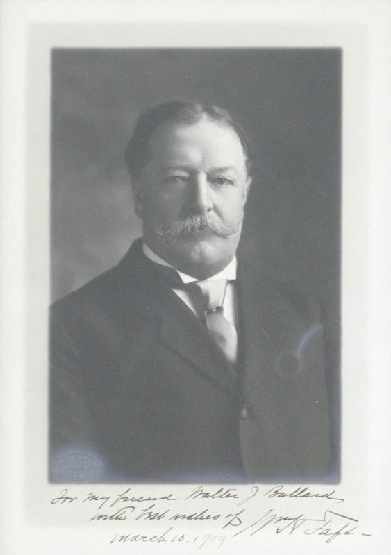 Image 3 for President William H. Taft - Autographed Inscribed Photograph 03/10/1909 - HFSID 279321