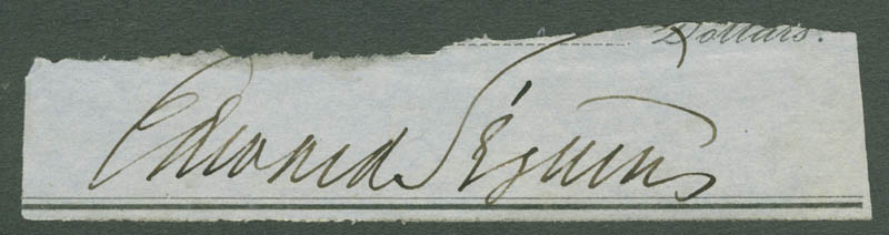 Image 1 for Edward Seguin - Clipped Signature - HFSID 279446