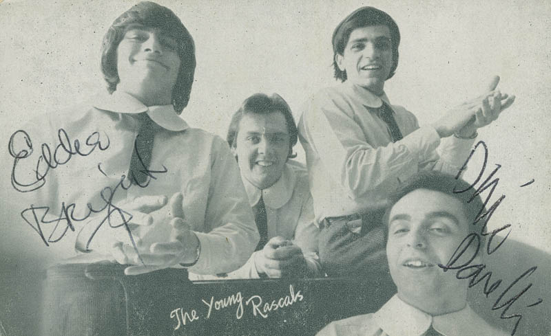 Image 1 for The (Young) Rascals - Autographed Signed Photograph co-signed by: Young Rascals (Eddie Brigati), Young Rascals (Dino Danelli) - HFSID 279474