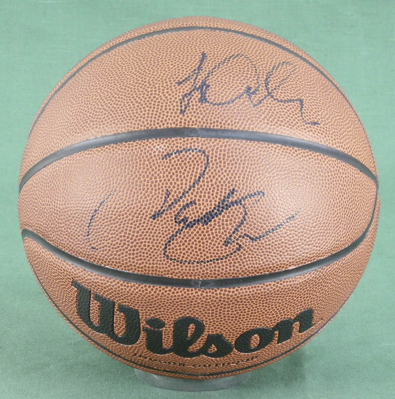 Image 1 for Pat Riley - Inscribed Basketball Signed - HFSID 279490