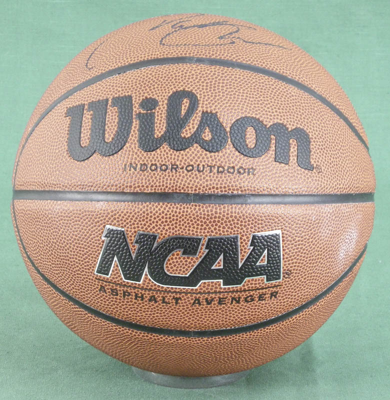 Image 3 for Pat Riley - Inscribed Basketball Signed - HFSID 279490