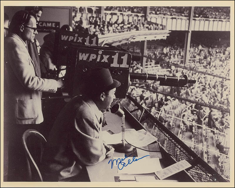 Image 1 for Mel Allen - Autographed Signed Photograph - HFSID 279533