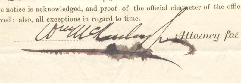 Image 3 for President William Mckinley - Manuscript Document Signed 10/20/1868 - HFSID 279541