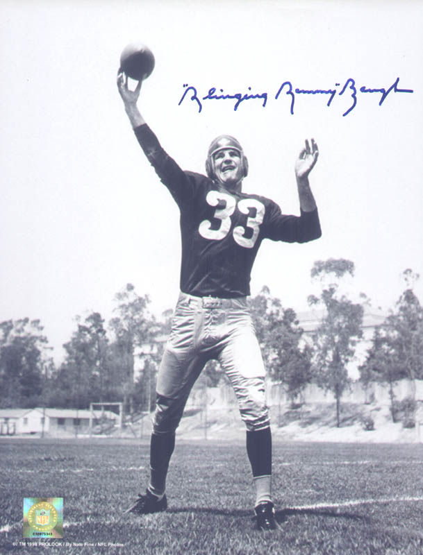 Image 1 for Sammy Baugh - Autographed Signed Photograph - HFSID 279548